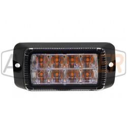 LED Frontblitzer 8 x 3 Watt...