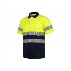 Polo-Shirt Warnschutz...
