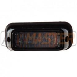 LED Frontblitzer Gelb R65
