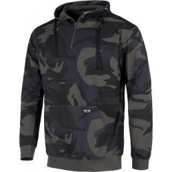 Sweatshirt Camouflage Grau...