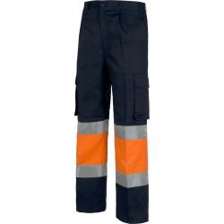 Warnschutz-Bundhose Blau...