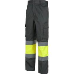 Warnschutz-Bundhose Grau...