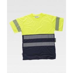 Warnschutz T-Shirt Leucht...