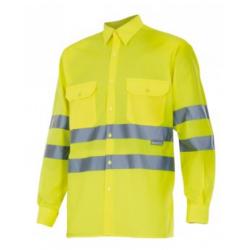 Warnschutz Langarmhemd Gelb...