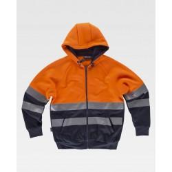 Warnschutz Sweatshirt Jacke...