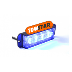 20W Power Frontblitzer Blau...