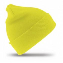 Warnschutz-Strickmütze Gelb...